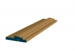12 x 107mm Pre-Varnished Solid White Oak Door Liner Kit (Single Door)