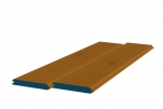 12 x 89mm Pre-Stained Redwood TGV Sheeting (8x2.4m)