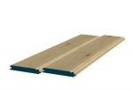 12 x 89mm Pre-Varnished Redwood TGB Sheeting (8x0.9m)