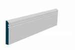 19 x 119mm Pre-Primed / Pre-Painted Wood Bevelled Double Shaker Skirting (5x2.4m)