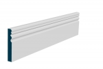 19 x 119mm Pre-Primed / Pre-Painted Wood Sheelin Skirting (5x2.4m)