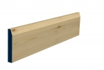 19 x 119mm Pre-Varnished Redwood Pine Chamfered Skirting (5x2.4m)