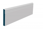 19 x 144mm Pre-Primed / Pre-Painted Wood Bevelled Double Shaker Skirting (5x2.4m)
