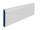 19 x 144mm Pre-Primed / Pre-Painted Wood Chamfered Skirting (5x2.4m)