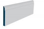 19 x 169mm Pre-Primed / Pre-Painted Wood Lambs Tongue Skirting (5x2.4m)