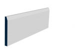 19 x 169mm Pre-Primed / Pre-Painted Wood Chamfered Skirting (5x2.4m)