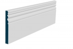 19 x 169mm Pre-Primed / Pre-Painted Wood Sheelin Skirting (5x2.4m)