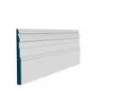 25 x 269mm Pre-Primed / Pre-Painted Wood Owel Skirting (5x2.4m)