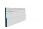 25 x 294mm Pre-Primed / Pre-Painted Wood Owel Skirting (5x2.4m)