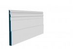 25 x 319mm Pre-Primed / Pre-Painted Wood Owel Skirting (5x2.4m)