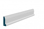 19 x 69mm Pre-Primed / Pre-Painted Wood Chamfered Architrave, inc. Hockey Stick (5x2.25m)