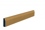 19 x 69mm Pre-Varnished Solid White Oak Chamfered Architrave or Skirting (5x2.13m)