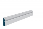 19 x 69mm Pre-Primed / Pre-Painted Wood Torus Architrave or Skirting (5x2.25m)