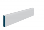 19 x 94mm Pre-Primed / Pre-Painted Wood Bullnose Architrave or Skirting (5x2.25m)