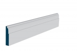 19 x 94mm Pre-Primed / Pre-Painted Wood Lambs Tongue Architrave or Skirting (5x2.25m)