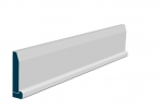 19 x 94mm Pre-Primed / Pre-Painted Wood Chamfered Architrave, inc. Hockey Stick (5x2.25m)
