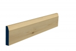 19 x 94mm Pre-Varnished Redwood Pine Chamfered Architrave or Skirting (5x2.25m)