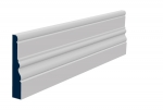 25 x 144mm Pre-Primed/Pre-Painted Wood Laurel Skirting (5x2.4m)