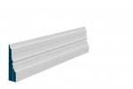 31 x 119mm Pre-Primed / Pre-Painted Wood Pallas Skirting (4x2.4m)