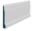 31 x 219mm Pre-Primed / Pre-Painted Wood Pallas Skirting (4x2.4m)