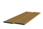 8 x 89mm Pre-Varnished Solid White Oak TGV Sheeting (10x2.4m)