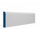 19 x 119mm Pre-Primed / Pre-Painted Wood Bullnose Skirting (5x2.4m)