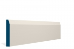 19 x 119mm PRE-PAINTED Wood Chamfered Skirting - IVORY (5x2.4m)