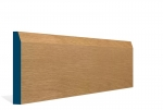 19 x 144mm Pre-Varnished Solid White Oak Chamfered Skirting (5x2.4m)