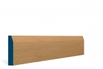 19 x 94mm Pre-Varnished Solid White Oak Chamfered Architrave or Skirting (5x2.4m)