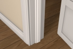 12 x 44 Pre-Primed Wood Ogee Door Stop (Single Door)