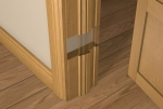 Pre-Varnished Solid White Oak Internal 30 Minute Fire Door LINER (inc Ogee Door Stop)