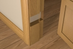 Pre-Varnished Solid White Oak REBATED Door Frame