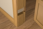 Pre-Varnished Solid White Oak 30 Minute Fire REBATED Door Frame