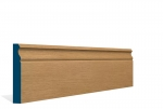19 x 119mm Pre-Varnished Solid White Oak Ogee Skirting (5x2.4m)