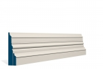 31 x 119mm PRE-PAINTED Wood Pallas Skirting - IVORY (4x2.4m)