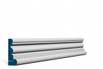 19 x 69mm Pre-Primed / Pre-Painted Wood Portmore Architrave, inc. Hockey Stick (5x2.25m)