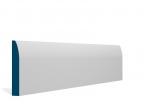 19 x 119mm Pre-Primed / Pre-Painted Wood Rounded Skirting (5x2.4m)