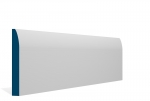 19 x 144mm Pre-Primed / Pre-Painted Wood Rounded Skirting (5x2.4m)