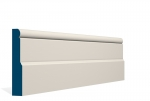 25 x 144mm PRE-PAINTED Wood Shannagh Skirting - IVORY (5x2.4m)