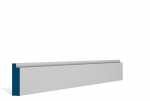 19 x 69mm Pre-Primed / Pre-Painted Wood Single Step Architrave or Skirting (5x2.25m)