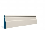 19 x 94mm PRE-PAINTED Wood Swellan Architrave/Skirting - IVORY