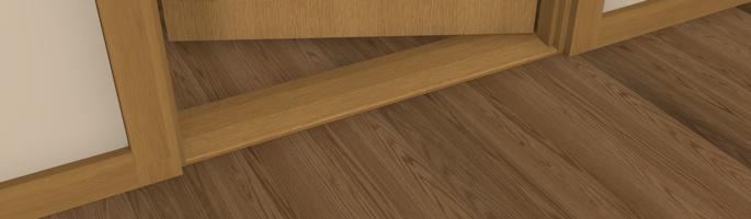 Door Oak Thresholds & ... 2300W 3 Wide Oak Doorway Threshold By ...