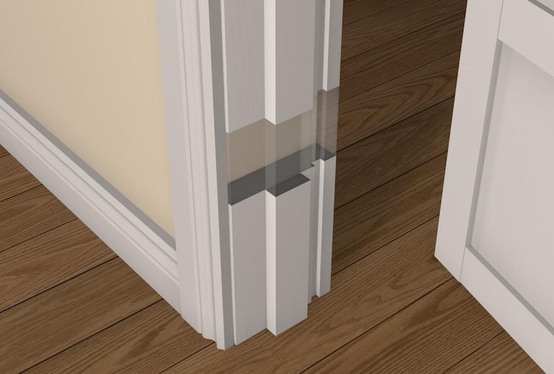Pre Primed Whitewood Square Edge Door Frame Packs Uk Diy Timber Packs