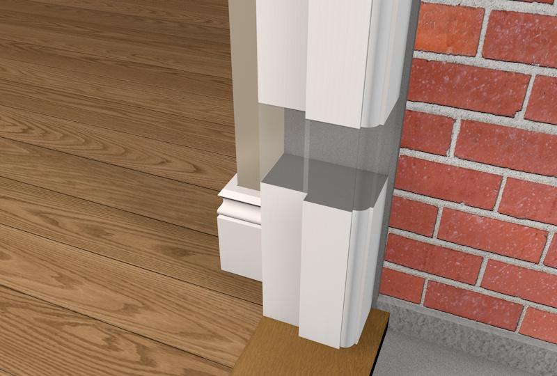 Exterior Plinth Blocks : Door plinth blocks victorian trim molding