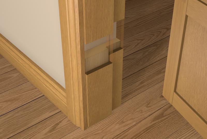 Pre-Varnished Oak Solid White Oak Faced Rebated Door Frame Packs UK - DIY Timber Packs & Pre-Varnished Oak Solid White Oak Faced Rebated Door Frame Packs ...