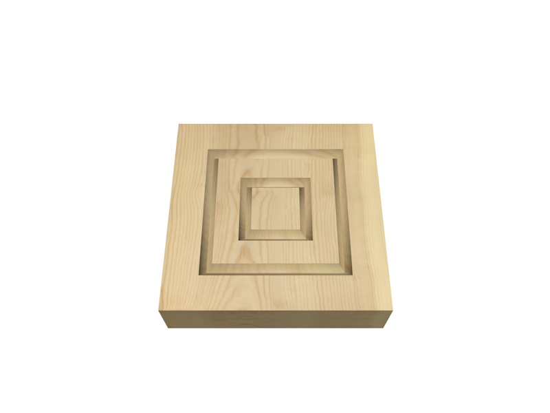 Redwood Plinth Blocks Wood Packs Cheap Door Frames Diy