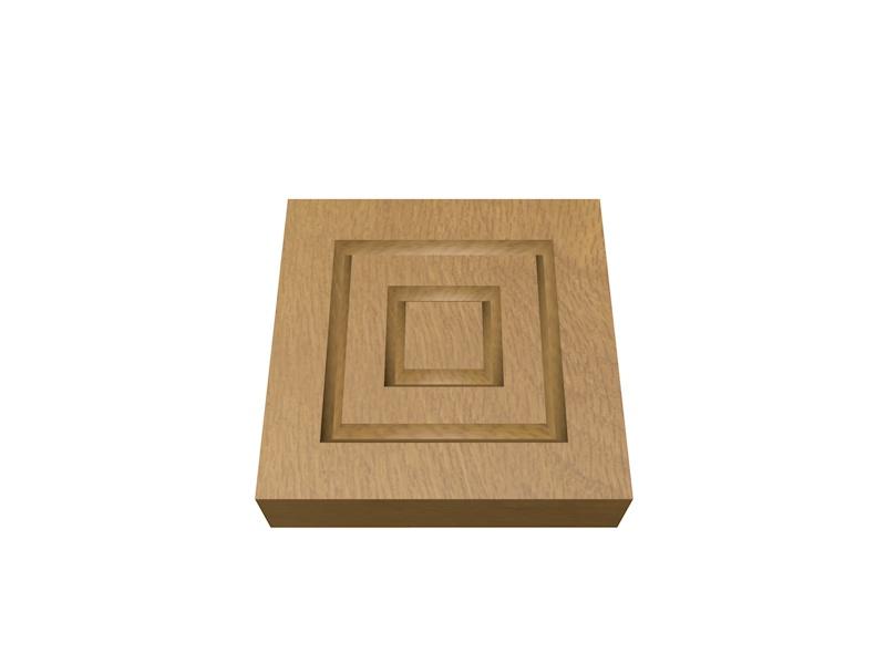Oak Plinth Blocks Planed Wood Packs Door Frames Uk Diy