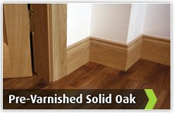 Pre-Varnished Solid White Oak DIY Packs
